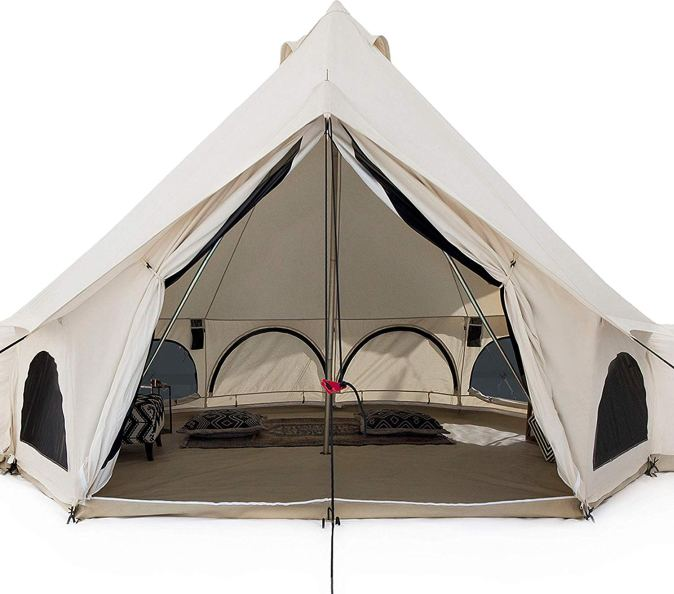 White Duck Outdoors Premium Luxury Avalon Canvas Bell Tent