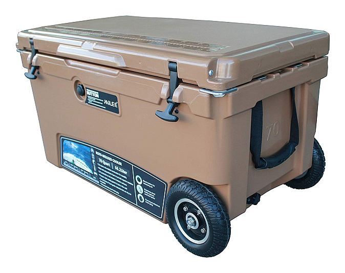 MILEE-Heavy Duty Wheeled Cooler 70QT