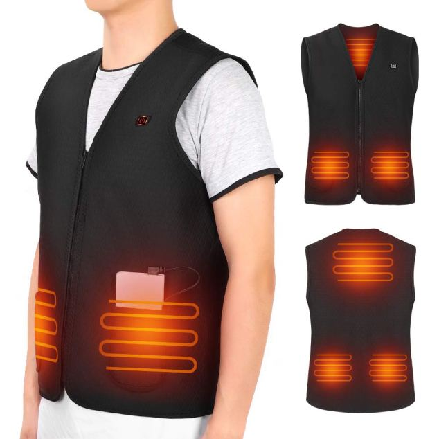 USB Heated Vest By Yosoo Health Gear