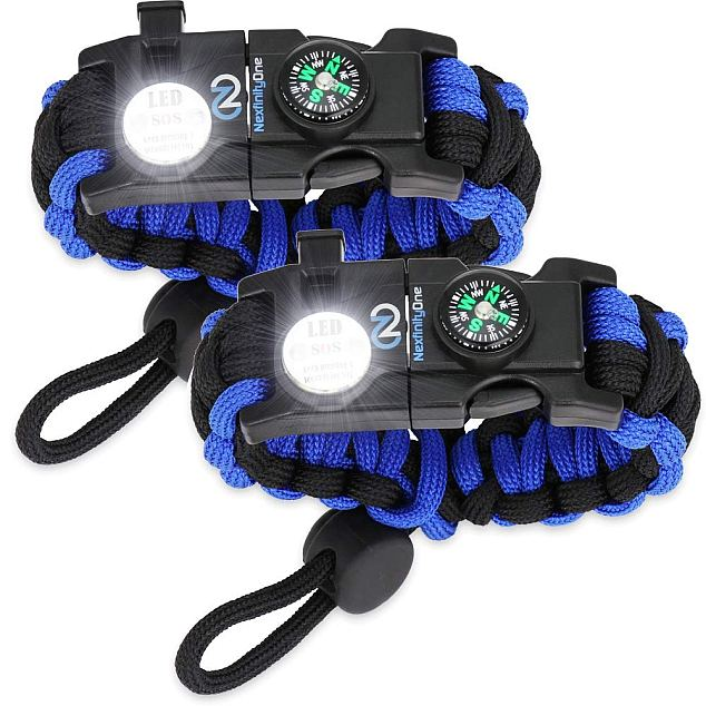 Nexfinity One Survival Paracord Bracelet