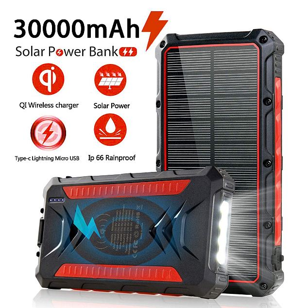 Feeke Solar Power Bank