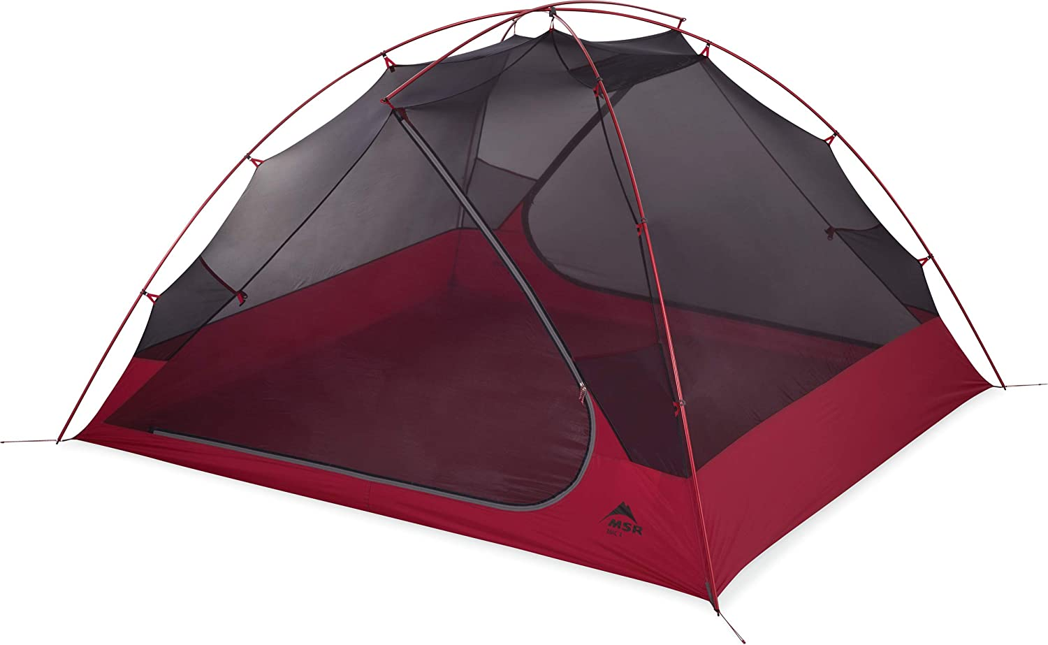 MSR Zoic 4-Person Lightweight Mesh Backpacking Tent with Rainfly