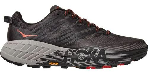 HOKA ONE ONE Men's Speedgoat 4 Running Shoes