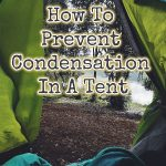 condensation in a tent