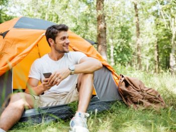 cellphone camping