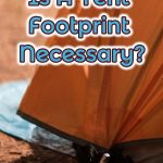 tent and footprint