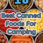 canned foods for camping