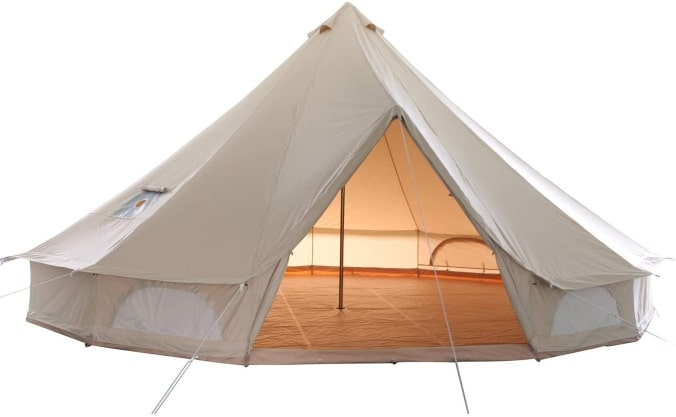 GlamCamp 100% Cotton Bell Tent