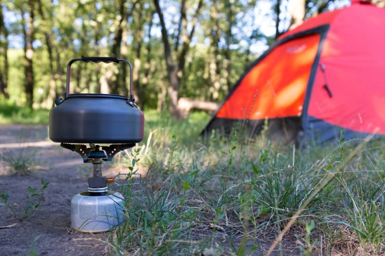 portable camp stove
